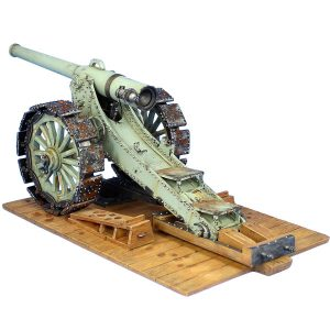 GW044 FRENCH 155MM 1877/1914 L DE BANGE CANNON