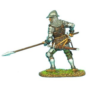 MED007 ENGLISH MAN-AT-ARMS WITH SPEAR