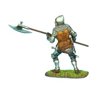 MED008 ENGLISH MAN-AT-ARMS WITH HALBERD