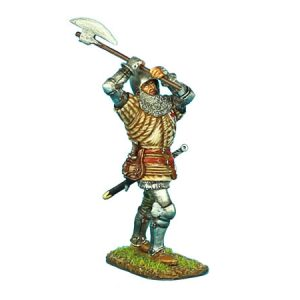 MED009 ENGLISH MAN-AT-ARMS WITH AXE