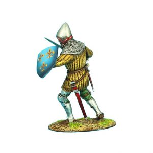 MED016 FRENCH MAN-AT-ARMS #3