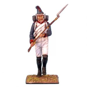 NAP0034 French Line Infantry Fussilier Advancing