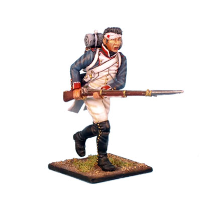 NAP0045 French Line Infantry Fusilier Charging