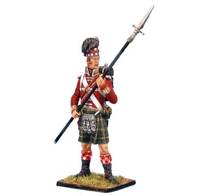 NAP0207 92nd Gordon Highlander Sergeant