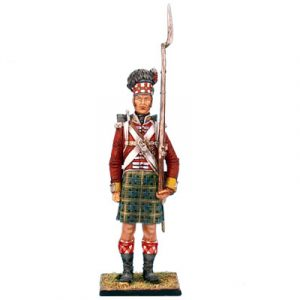 NAP0211 92nd GORDON HIGHLANDER STANDING