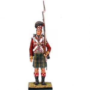 NAP0212 92nd GORDON HIGHLANDER STANDING