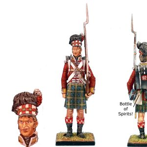 NAP0213 92nd GORDON HIGHLANDER STANDING - INTOXICATED