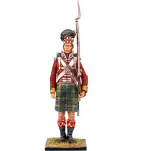 NAP0215 92nd GORDON HIGHLANDER STANDING - TALL