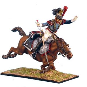 NAP0244 FRENCH 5th CUIRASSIER TROOPER THROWN FROM HORSE