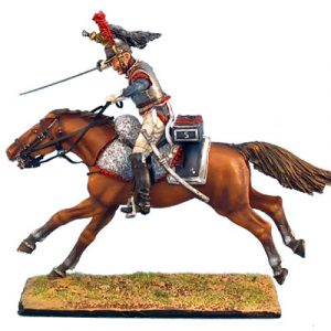 NAP0246 FRENCH 5th CUIRASSIERS TROOPER CHARGING