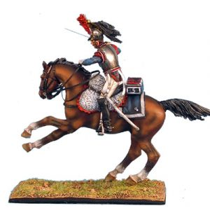 NAP0247 FRENCH 5th CUIRASSIERS TROOPER CHARGING