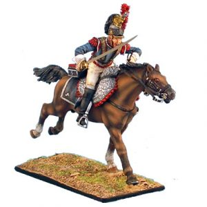 NAP0248 FRENCH 5th CUIRASSIERS TROOPER CHARGING