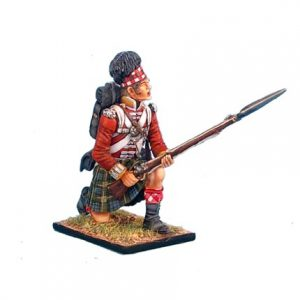 NAP0264 92nd GORDON HIGHLANDER KNEELING READY