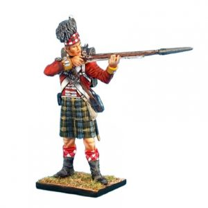 NAP0265 92nd GORDON HIGHLANDER STANDING FIRING
