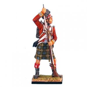 NAP0267 92nd GORDON HIGHLANDER STANDING LOADING