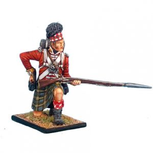 NAP0269 92nd GORDON HIGHLANDER KNEELING LOADING
