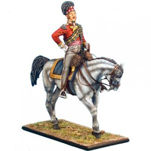 NAP0272 92nd GORDON HIGHLANDER MOUNTED MAJOR