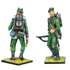 NAP0282 BRITISH 95th RIFLES YOUNG SOLDIER