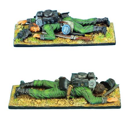 NAP0290 BRITISH 95th RIFLES DEAD