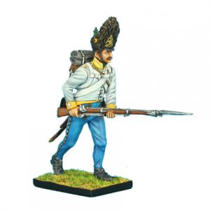 NAP0299 AUSTRIAN HAHN GRENADIER ADVANCING LEVELED MUSKET