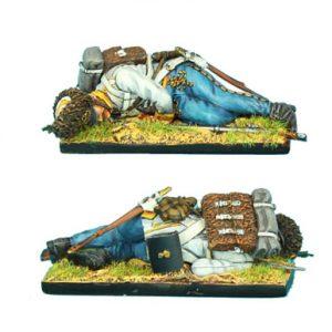 NAP0309 AUSTRIAN HAHN GRENADIER DEAD