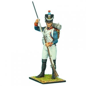 NAP0320 FRENCH 18th LINE INFANTRY FUSILIER STANDING LOADING