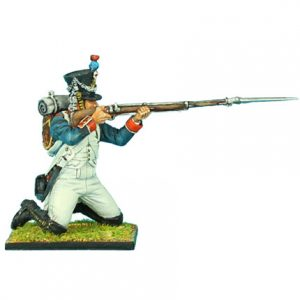 NAP0328 FRENCH 18th LINE INFANTRY FUSILIER KNEELING FIRING