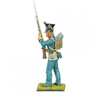 NAP0358 POLISH 1st LINE INFANTRY FUSILIER STANDING READY