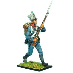 NAP0372 FRENCH 1ST LIGHT INFANTRY CHASSEUR CHARGING