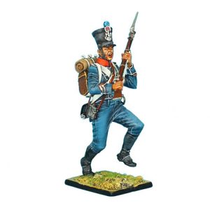 NAP0375 FRENCH 1ST LIGHT INFANTRY CHASSEUR SERGEANT CHARGING