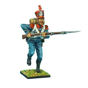 NAP0384 FRENCH 1st LIGHT INFANTRY CARABINIER CHARGING