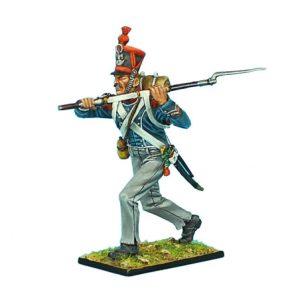 NAP0385 FRENCH 1st LIGHT INFANTRY CARABINIER SERGEANT CHARGING