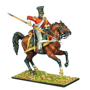 "NAP0423 2nd DUTCH ""RED"" LANCERS OF THE IMPERIAL GUARD TROOPER WITH LANCE #2"