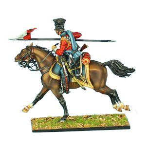 "NAP0425 2nd DUTCH ""RED"" LANCERS OF THE IMPERIAL GUARD WITH LANCE #3"