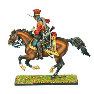 "NAP0426 2nd DUTCH ""RED"" LANCERS OF THE IMPERIAL GUARD TROOPER WITH SWORD #2"