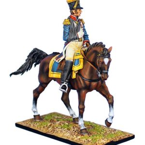 NAP0455 FRENCH 45th LINE INFANTRY MOUNTED COLONEL