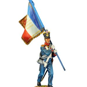 NAP0456b FRENCH 45th LINE INFANTRY STANDARD BEARER