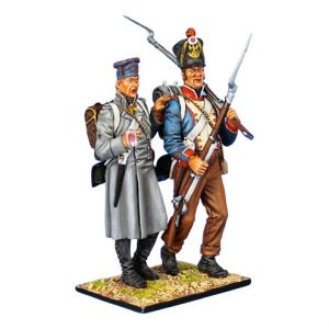 NAP0460 FRENCH 45th LINE INFANTRY FUSILIER VIGNETTE