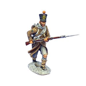 NAP0490 FRENCH FUSILIER CHARGING - 4TH LINE INFANTRY