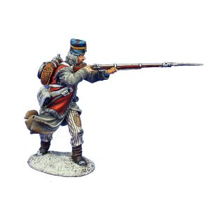 NAP0491 FRENCH FUSILIER FIRING - 18th LINE INFANTRY