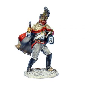 NAP0497 FRENCH DISMOUNTED CUIRASSIER