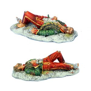 NAP0500 DEAD FRENCH HUSSAR