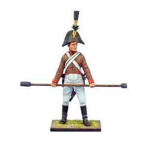 NAP0505 AUSTRIAN ARTILLERY GUNNER WITH RAMMER/SPONGE