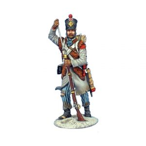 NAP0510 FRENCH GRENADIER STANDING LOADING - 18th LINE INFANTRY