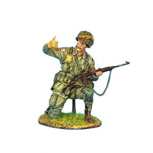 NOR002 US 101st AIRBOURNE SERGEANT WITH M1A1 CARBINE