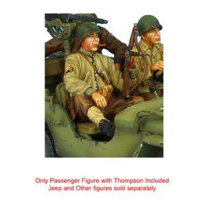 NOR051 US INFANTRY STAFF SERGEANT - JEEP PASSENGER/TANK RIDER