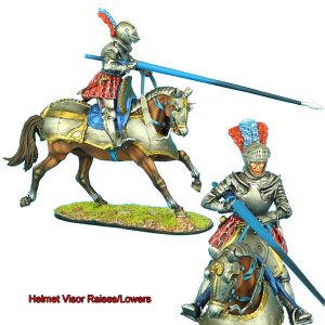 REN033 FRENCH MOUNTED KNIGHT WITH LANCE #1