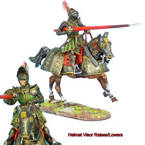 REN034 FRENCH MOUNTED KNIGHT WITH LANCE #2