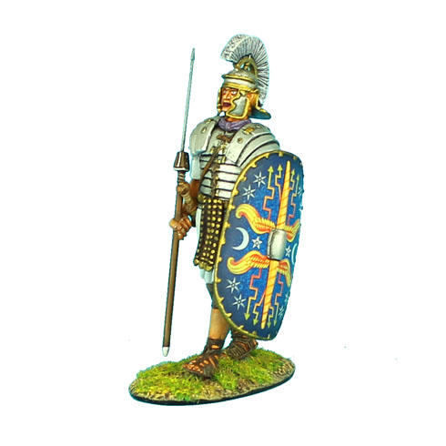 ROM045 IMPERIAL ROMAN PRAETORIAN GUARD MARCHING WITH PILUM