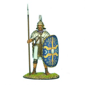 ROM049 IMPERIAL ROMAN PRAETORIAN GUARD STANDING WITH SPEAR